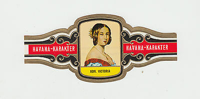 Queen Victoria of England : extra large cigar band