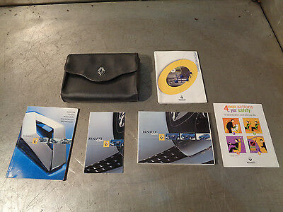 Renault Clio Sport 172 182 2001-2006 Service history folder manuals booklets 2