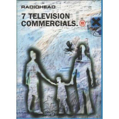 RADIOHEAD 7 Television Commercials DVD European Parlophone 1997 Pal Format Dvd