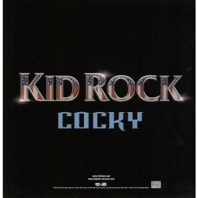 """KID ROCK Cocky CARD US Atlantic 2001 12"""" X 12"""" Promotional Double Sided Card To"""