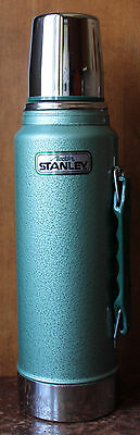 Vtg. Stanley Aladdin Quart Steel Thermos No. A-944DH, Unused, New Condition
