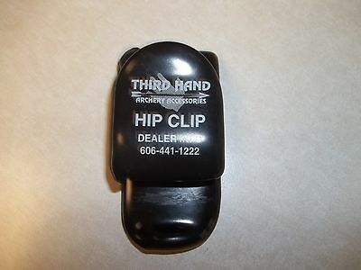Hip Clip Third Hand Archery Accessories Great For Bow Hunters Used But In Great