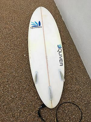 "Quiver Surfboard 6'2"", 19"", 2 3/8"""