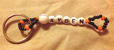 Boys Or Men's Personalized Keychain Or Zipper Pull With The Name Ayden-New