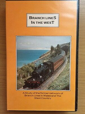 Branch Lines In The West VHS