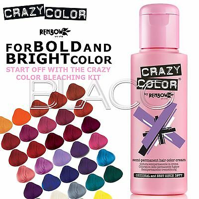 Crazy Color 100Ml Colorazione Semipermanente Per Capelli