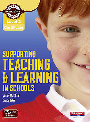Level 2 Supporting Teaching & Learning in Schools Handbook by Louise Burnham, B…