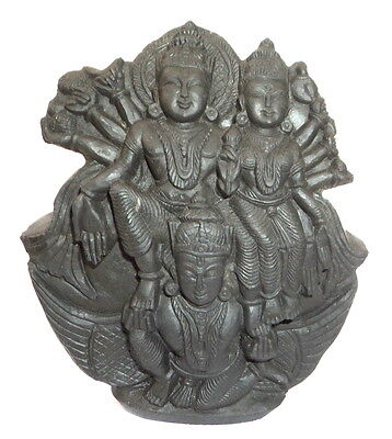 Laxmi Narayana On Gardua Murti Carved on Sudarshan Shaligram