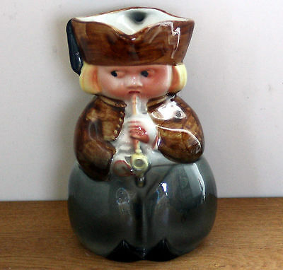 Rare ~ Vintage ~ Character Toby Jug ~ Dutch Boy with Pipe and Clogs ~ Excellent