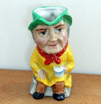 """Rare Vintage ~ """"Old Roof Thatcher"""" ~ Toby Jug ~ 4.75"""" high ~ Weetman Giftware?"""