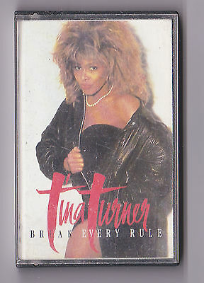 ref. 3628TINA TURNER BREAK EVERY RULE CASSSETTE