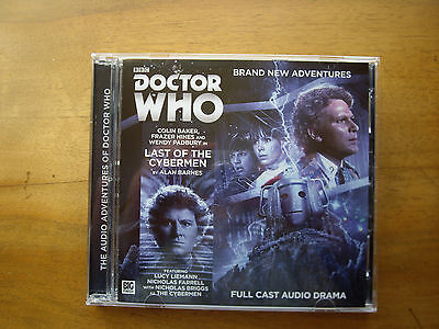 Doctor Who Last of the Cybermen, 2015 Big Finish audio book CD