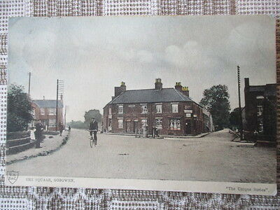 Postcard The Square Gobowen nr Oswestry Shropshire T S B&C Postmarked 1903