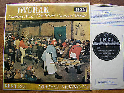 SXL 6291 DVORAK: SYMPHONY No. 9 'New World'  KERTESZ/LSO  WBg  Audiophile  NM