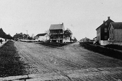 New 4x6 Civil War Photo: Baltimore Pike and Emmitsburg Road at Gettysburg, Pa.