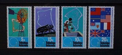 TOKELAU 1972 South Pacific Commission. Set of 4. Mint Never Hinged. SG33/36.