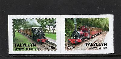 Railway Letter Stamps Talyllyn 2012 Definitives