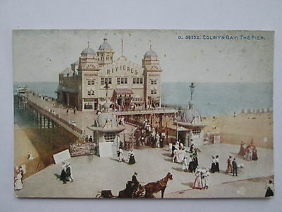 Vintage Postcard - The Pier , Colwyn Bay , North Wales .