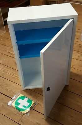 Metal First aid cabinet lockable