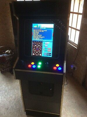 Video Arcade Machine 412-1 Game Elf jamma 2 player  Awesome retro gaming