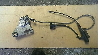 Moto roma smx 125 2004 rear brake caliper and master cyclinder. Used condition