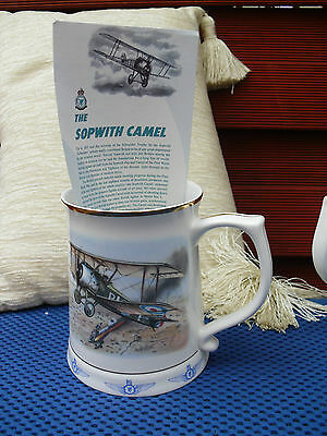 The Sopwith Camel With Certificate Tankard