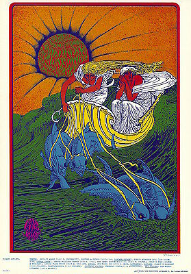 MINT Canned Heat 1967 FD D14 Family Dog Denver Poster