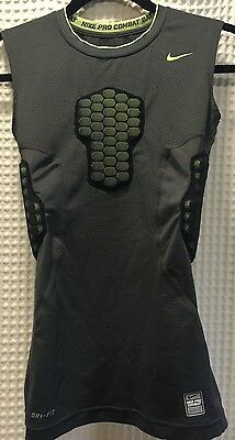 Nike Pro Combat DRI-Fit Compression Gear Top Size XL Youth Grey