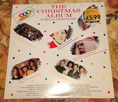 """NOW THAT'S WHAT I CALL THE MUSIC THE CHRISTMAS ALBUM 12"""" Vinyl LP 1985 NM"""