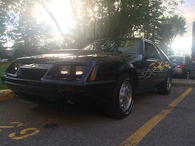 Ford: Mustang LX 1986 Ford Mustang LX