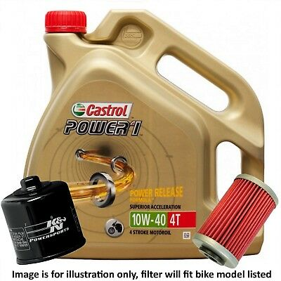 BMW S 1000 RR 2011 Power 1 Oil and K&N Filter Kit