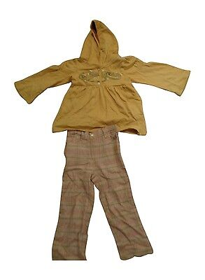 NEW Girls Rocawear Hooded Jacket & Tweed Trouser Set Outfit Sizes: 2-3 Years 3-4