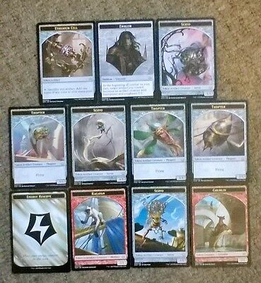 Magic The Gathering - Aether Revolt - Token Card Collection