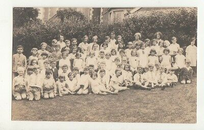 Old Postcard.Primary School Children.Class Photo.Unknown Location.c1950's