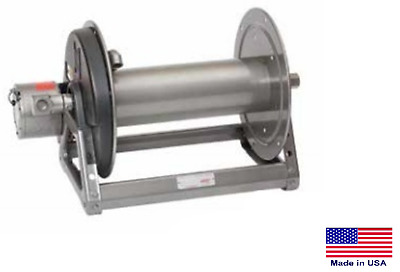 """ELECTRIC HOSE REEL for Pressure Washers & Sprayers - 18"""" - for 5/8"""" & 3/4"""" Hose"""