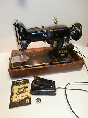Vintage Pfaff 130 Heavy Duty Zig-Zag Sewing Machine