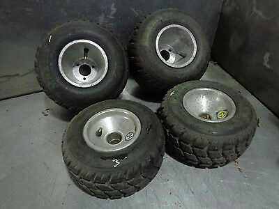 Set of 4 x Go kart wheels and maxxis  tyres 11 x 6.00-5 and 10x4.50-5 ROTAX?