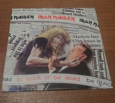 "IRON MAIDEN - Be Quick Or Be Dead - UK/Europe - 7"" Vinyl. VG"