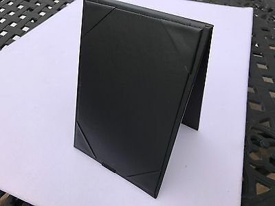"15Pcs 4""x 6"" Double-sided Table Tent Holder Menu Holder A-Frame Restaurant Black"