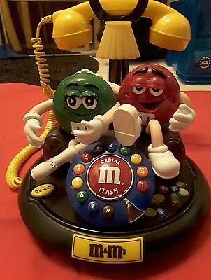 M&Ms Collectable Fully Working Home Phone - Flashing Animated Action