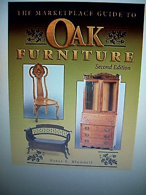 OAK FURNITURE $$$ Price Guide COLLECTORS BOOK Desk Chairs Chest Table