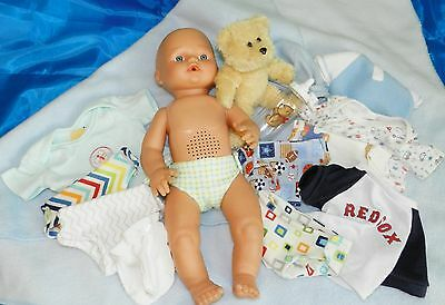 Anatomically Correct Boy Doll, Drinks, Pee's, Laughs And Giggles Plus Extra's