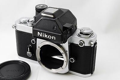 Nikon F2 Photomic S SILVER SLR 35mm Film Camera Body **Excellent+** From Japan