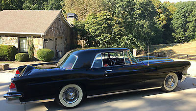 1956 Lincoln Continental Continental Mark II 1956 Lincoln Continental Mark II Black/Red Rare Factory Air Conditioning