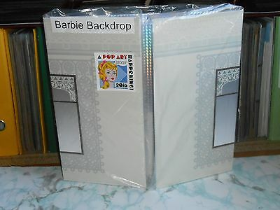 BARBIE Andy Warhol 2016 CONVENTION reversible backdrop RARE