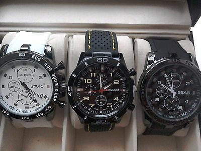 joblot chunky style sports watches
