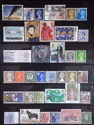 2 - Great Britain - nice lot of stamps used