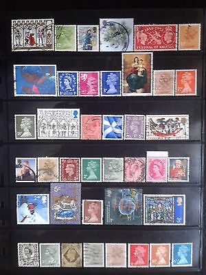 Great Britain - nice lot of stamps used