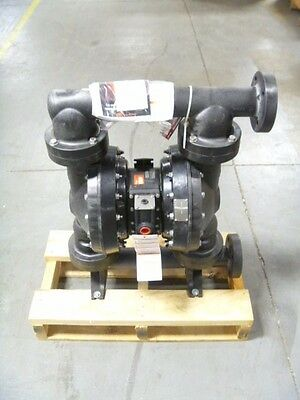"2"" Ingersoll Rand ARO PD20E-FES-PTT Flanged Air Operated Diaphragm Pump NEW"