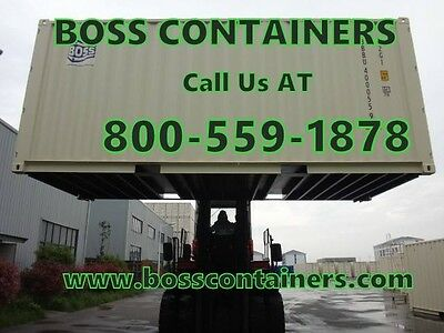 VERY cheap PRICES for STEEL shipping CONTAINERS! At Binghamton/ New york